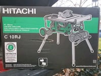 """10"""" Hitachi Table Saw with stand Leesburg, 20176"""