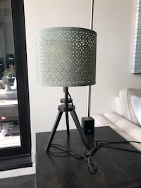 Pair of modern tripod table lamps for end table, nightstand, etc. Milwaukee, 53203