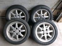 "15"" ASA Wheels made by BBS 4x100 Brampton, L6Y 6B7"