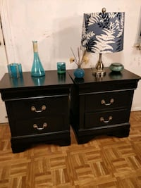 Like new 2 black night stand in great good conditi Annandale, 22003