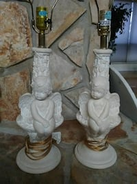 Two Angel Lamps