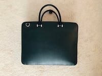 Black leather luxury briefcase  Columbia, 21045