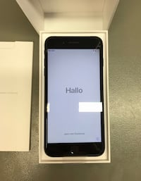 Svart iphone 7 plus 128GB