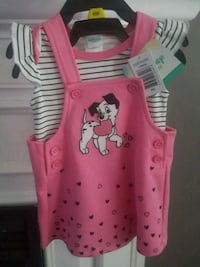 Disney 101 Dalmations Outfit (dress and onsie) BNWT Mississauga, L4Z
