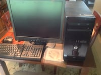 """Hp 3500 Series  Pro 7 restored to factory settings. 19"""" monitor Youngstown, 44512"""