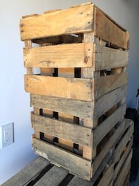 """Woodcrate for crafts 20""""x13""""x12"""" $5 each San Jose, 95128"""