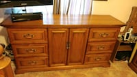 brown wooden cabinet with drawer Puyallup, 98375