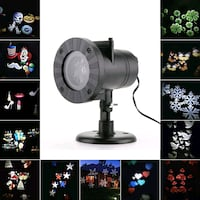 Christmas Lights outdoor Waterproof LED Laser Snow Surrey, V3V 0A9