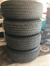 Brand New Tires / Wheel Package - 275/60R/20