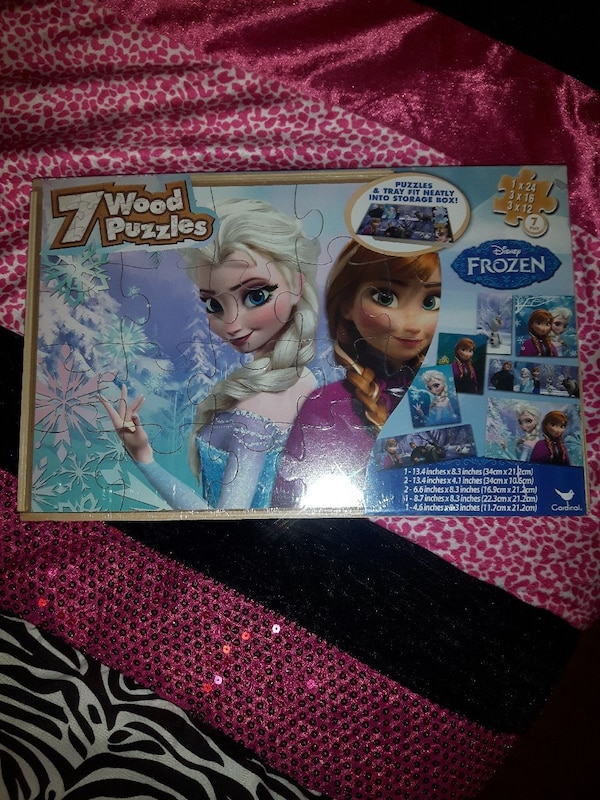 Brand new frozen puzzles