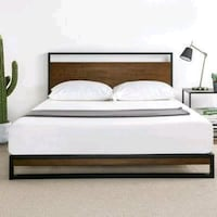 New in the box full size platform bed frame r Bakersfield, 93311