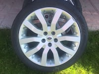 Nokian Tires With Land Rover Rims