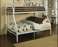 White Twin Over Full Bunk Bed  Salem, 97306
