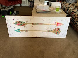 Colorful Arrow painting