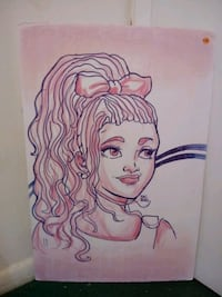 Poster of a young girl