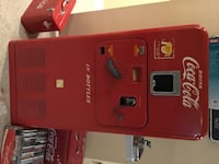 Vintage Coke Machine Ashburn