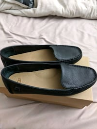 Ugg black leather shoes 8 Montreal
