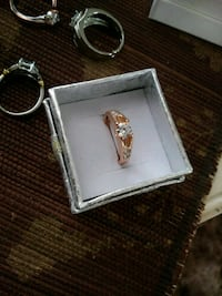 New* Ring is a small sz6 RoseGold Filled.. CzDiamo Albuquerque, 87109