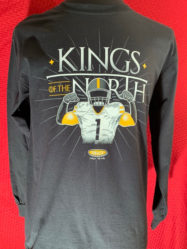 417809be9 Brukt NFL Pittsburgh Steelers Game of Thrones king of the north long sleeve  shirt BNWT til salgs i Stevens