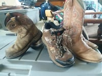 pair of brown leather cowboy boots Pelahatchie, 39145
