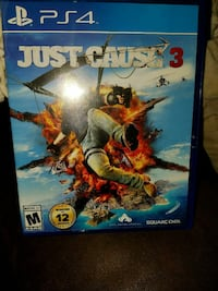 Just Cause 3 PS4 game case
