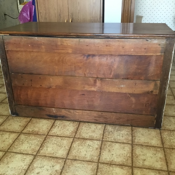 Antique 2 drawer chest makeover. Drawers work perfectly. Great condition   81cb392d-3dd6-4065-985a-ba9d95e0a181