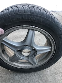 195/55 R15 WINTER TIRES!! Barely used  Calgary, T2C 4A4