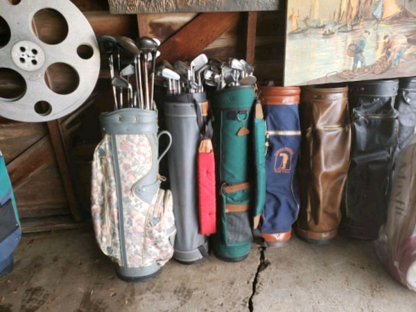 d20ce60058 Used MID CENTURY GOLF BAGS AND CLUBS for sale in Warren - letgo
