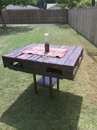 brown and black wooden picnic table Temple, 76502