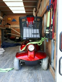 red and black push mower Toronto, M9V 3G7
