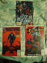 DC COMIC BOOKS