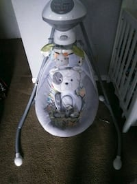 white and gray Fisher-Price cradle n swing Watsonville, 95076