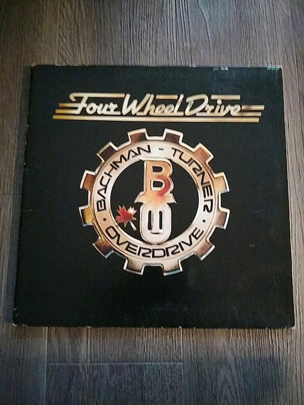 BACHMANN TURNER OVERDRIVE RECORD LP