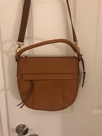 Fossil cords body Brown leather bag Mississauga, L4W 2Z5