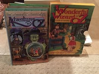 Classic Wizard of Oz Pop Up books - set of 4 - like new Mississauga, L5M 3A5