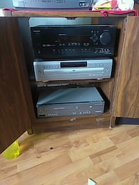 black and gray Sony stereo component Las Vegas, 89110