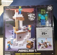 Minecraft - Tundra Tower Expansion Playset NEW