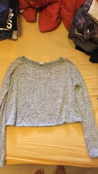 gray scoop-neck sweater Thames Centre, N6M 1H6