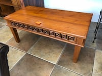 Carved Teak Coffee Table  Holly Hill, 32117