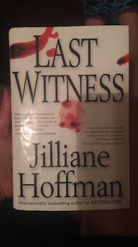 Last Witness by Jilliane Hoffman book