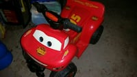 Cars power wheels ride on lightening mcqueen Edison