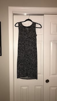 EUC Black/Off-White Print Sleeveless Dress Clarksburg, 20871