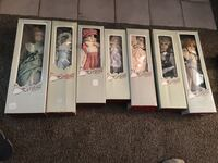 VINTAGE HERITAGE DOLLS -- porcelain collection dolls Broadview Heights, 44147