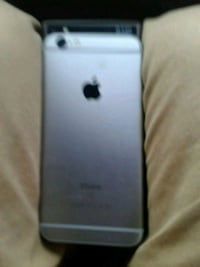 silver iPhone 6s with black case 64 GB London, N5W 2J1