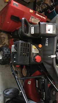 Yard Machine snow blower. Used 2 times only. Over $500 New