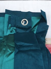4 Silk Look Teal Panels NOT $200/But $35 Glendale, 91204
