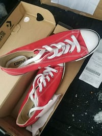 Red Size 9 Women's Converse