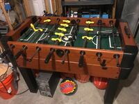 brown and green foosball table Bowie, 20720
