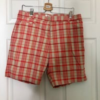 Gordon colper plaid golf shorts 550 km