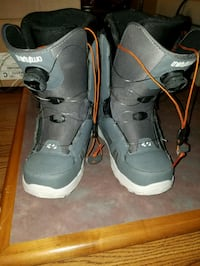 pair of gray-and-white Nike basketball shoes Bozeman, 59718